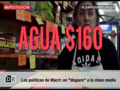 ARGENTINA:Las politicas de Macri, un disparo a la clase media