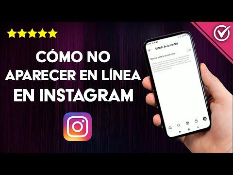 Cómo no Aparecer en Línea, Activo o Conectado en Instagram para que los Demás no te vean