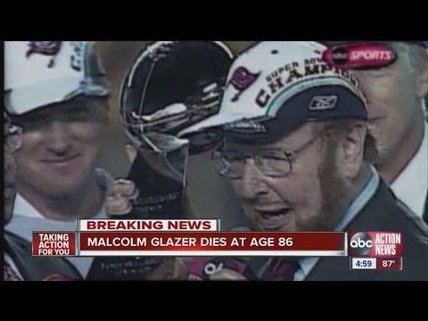 Buccaneers owner Malcolm Glazer dies