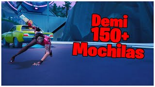 SHOWING THE DEMI SKIN & 150 + BACKPACKS | FORTNITE