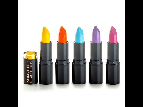 Makeup Revolution обзор и отзывы, часть 2: Необычная декоративка для губ и прочее :)