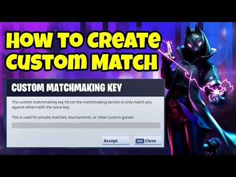 How To Create Custom Match In Fortnite