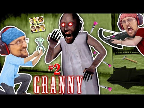 GRANNY, MARRY ME?  SHOOTING GRANNY TURNS HER GHOST! 5 Days Ending! FGTEEV Barely Escapes House 2