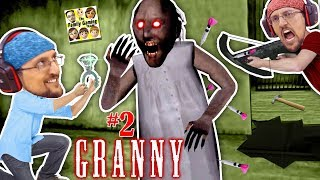 Granny, Marry Me?  Shooting Granny Turns Her Ghost! 5 Days Ending!  Fgteev Barely Escapes House #2