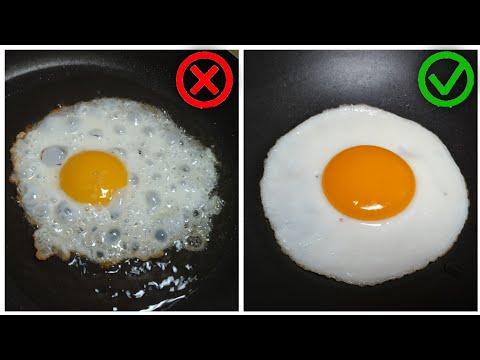 Cara Membuat Telur Ceplok Rapi dan Tidak Bergelembung    Trik Rahasia Dapur Mamika