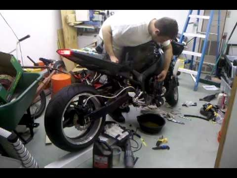 2003 yamaha r1 turbo first start