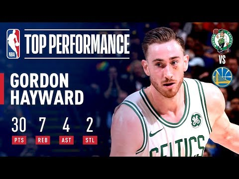 Gordon Hayward Goes For 30 POINTS On 12/16 Shooting Vs. Warriors | March 5, 2019