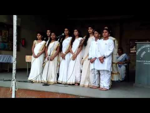 Republic day song at cosmos English high school (Shruti)