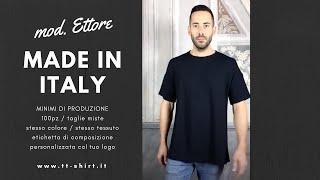 TT-Shirt  | T-shirt made in Italy, modello E T T O R E