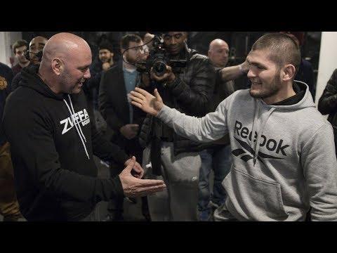 Хабиб и Дана Уайт пожертвовали большие суммы денег, узбекский боец подписан в UFC