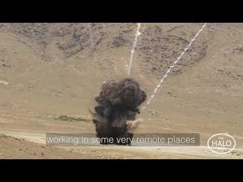 FAST FOLD Solar Power System in Afghanistan
