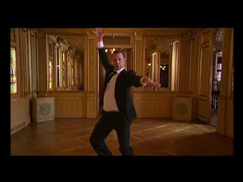 Mikael Persbrandt dancing  Weapon of Choice by Fatboy Slim