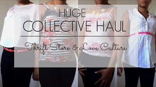 Huge Spring / Summer Collective Haul: Thrift Store, Love Culture