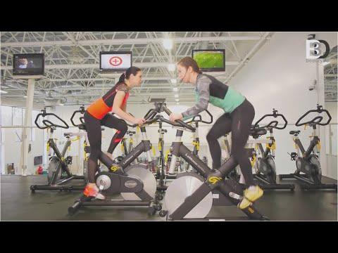 Занятия на велотренажере для похудения. Программа и