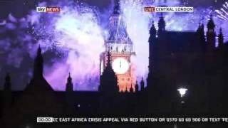 London Fireworks 2013 New Years Eve Full Version (HD)