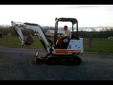 1998 BOBCAT 325 Mini Excavator OROPS For Sale