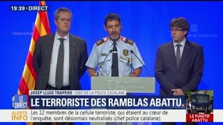 Comment la police catalane a abattu Younes Abouyaaqoub