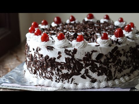 Black Forest cake recipe Black Forest pastry recipe