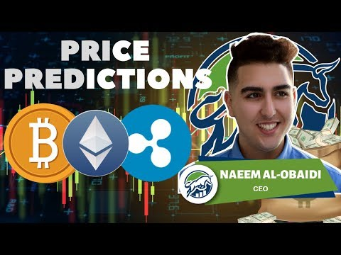 Price Predictions: Bitcoin ($BTC), Ethereum ($ETH), Ripple ($XRP)!