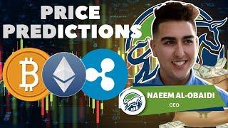 Price Predictions: Bitcoin ($BTC), Ethereum ($ETH), Ripple ($XRP)!