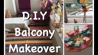 Indian balcony makeover ideas - Balcony decor DIY ideas 1