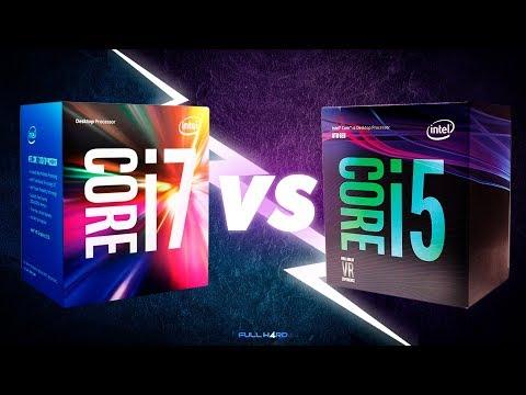 Comparamos el Intel Core i7 7700 Vs i5 8400 - Fullh4rd
