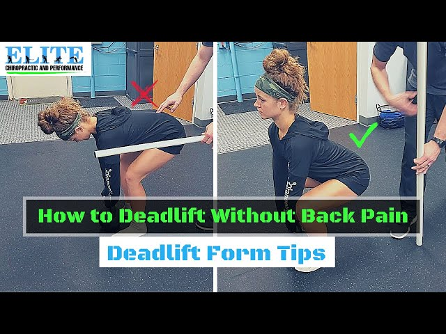 How to Deadlift Without Back Pain | Chesterfield Chiropractor