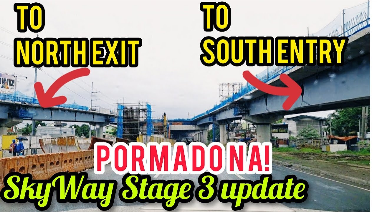 SKYWAY STAGE 3 UPDATE! GANDA NG SOUTHBOUND VIEW! SIGHTSEEING TOUR! AUGUST 09, 2020