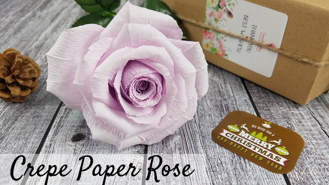 Realistic Paper Roses Handmade Crepe Paper Flowers Ideal Gift For