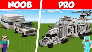 Minecraft NOOB vs PRO: MODERN RV HOUSE BUILD CHALLENGE in Minecraft / Animation