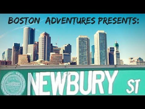 BOSTON ADVENTURES TO NEWBURY STREET FALL FASHION EDITION