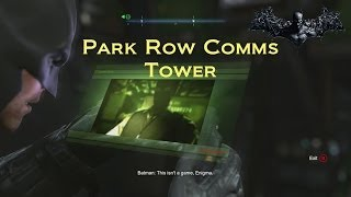 Batman: Arkham Origins: Park Row Comms Tower (with Commentary)