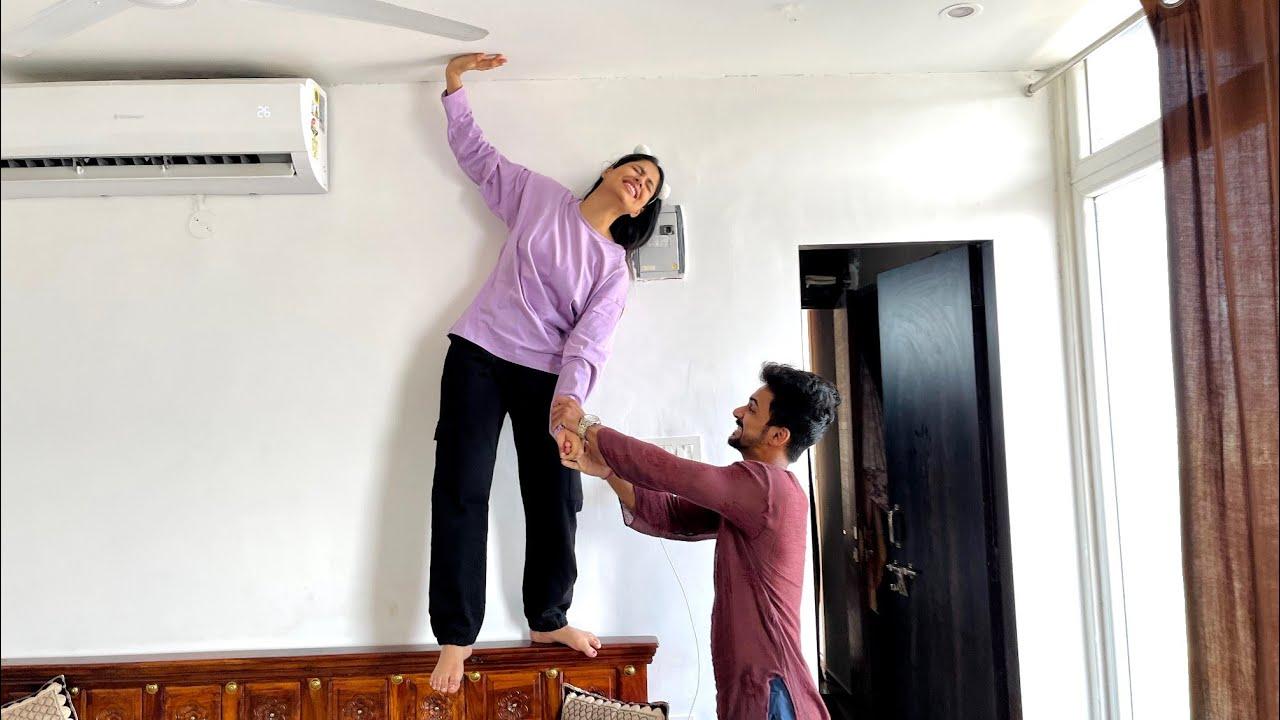 Ye monkey ka role bhot ache se kar sakti h 🤣 | Suraj Pal Singh | Yashi Tank