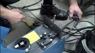 How to install welding wire
