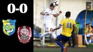 Rezumat:  Dunarea Calarasi - CFR Cluj 0-0 #cfr