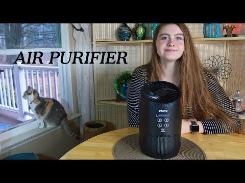 Partu Air Purifier HEPA & Carbon (3 Stage Filtration) Air Cleaner