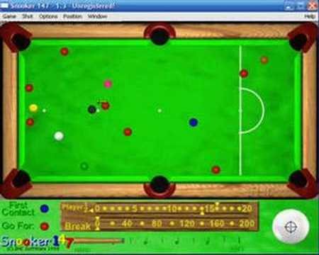 Snooker 147 PC GAME Match (2 of 3)