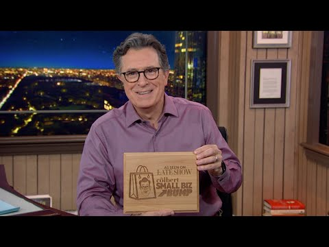 Lazer Ladies, Healthy Appetites, Just Heavenly Fudge & More Receive The Colbert Small Biz Bump