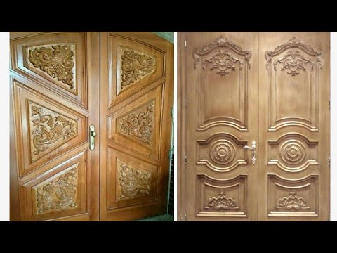 Top Wood Modern Double Main Door Collection For Modern Home Youtube