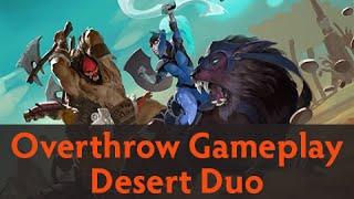 Dota 2 Custom Games - Overthrow Gameplay (Desert Duo)