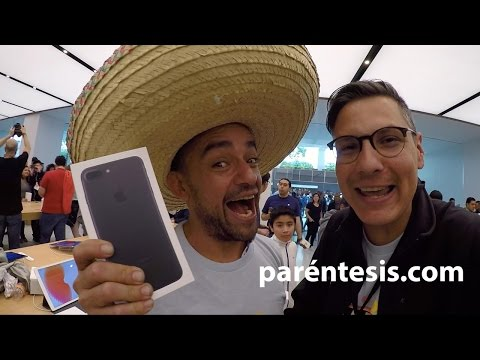 Furor en la apertura de la Apple Store México