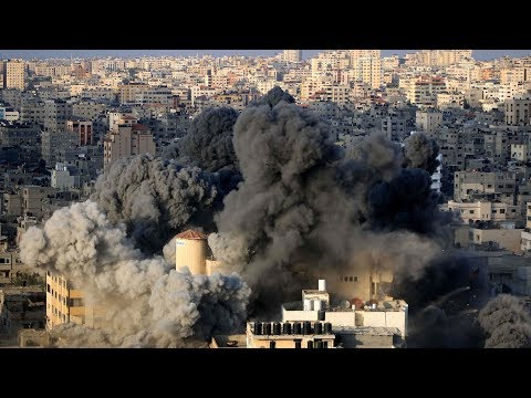 Israeli aircraft reportedly bomb building in Gaza city
