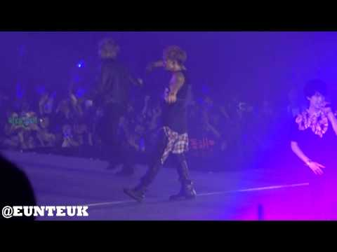 130615 Super Junior Super Show 5 in Hong Kong - Shake It Up (Eunhyuk Focus)