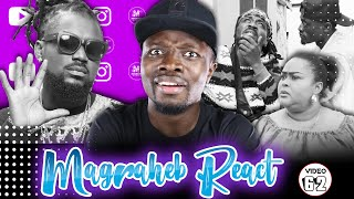Magraheb Reacts to Samini OBRA video with Lil Win & Vivian Jill