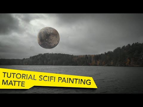 AFTER EFFECTS FUTURISTIC MATTE PAINTING TUTORIAL