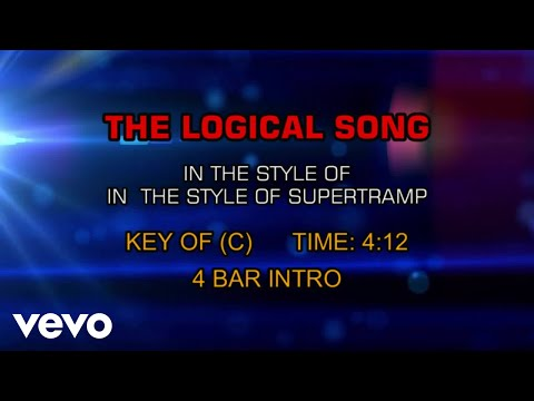 Supertramp  The Logical Song Karaoke