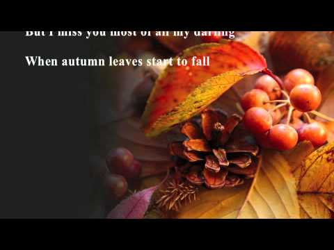 Autumn Leaves : Natalie Cole : with Lyrics