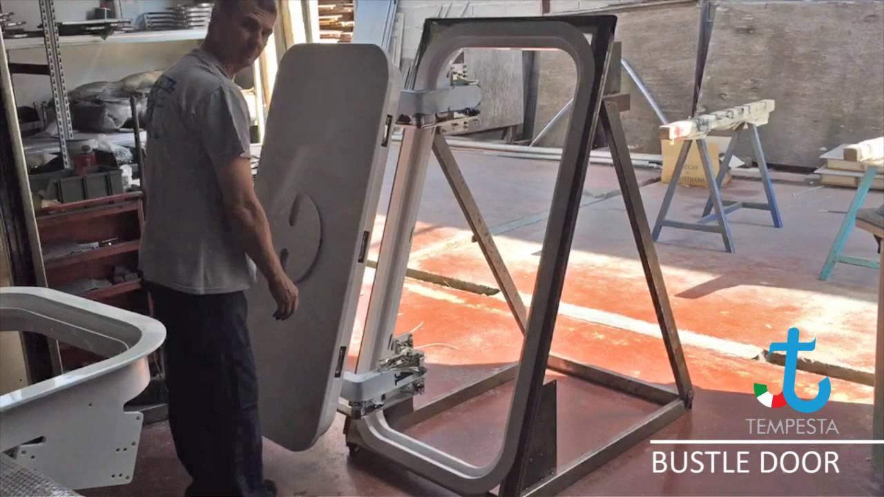 Bustle Door With Pantograph Hinges & Bustle Door With Pantograph Hinges - YouTube pezcame.com