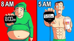 Waking Up Earlier BOOSTS Weight Loss (NEW STUDY)