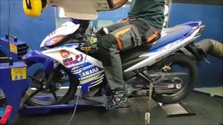 Video Yamaha LC135 Uma Racing CDI 188km/h - Motodynamics Technology Malaysia download MP3, 3GP, MP4, WEBM, AVI, FLV April 2018